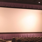 The 29 ft screen in one of Movies Six' larger auditoriums